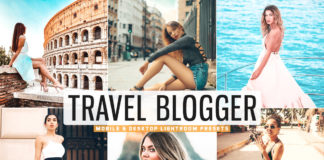 Free Travel Blogger Lightroom Presets