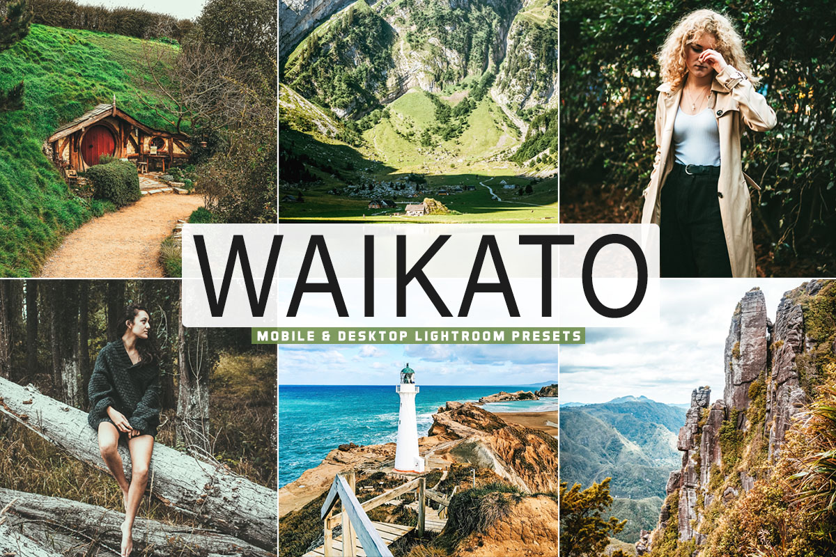 Free Waikato Lightroom Presets