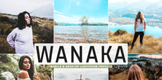 Free Wanaka Lightroom Presets