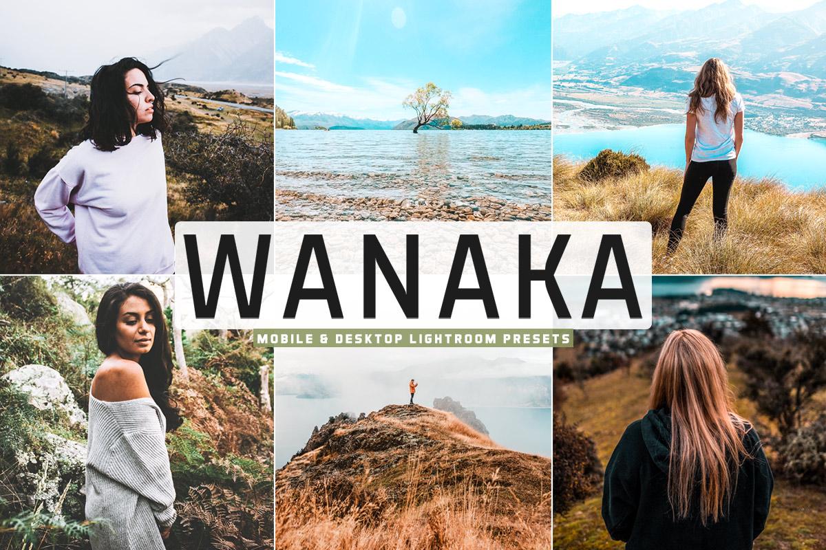 Free Wanaka Lightroom Presets