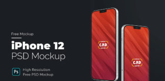 Free iPhone 12 Concept Mockup