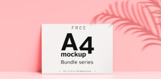 Free A4 Mockup Bundle Series