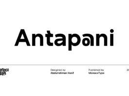Free Antapani Sans Serif Font