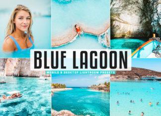 Free Blue Lagoon Lightroom Presets
