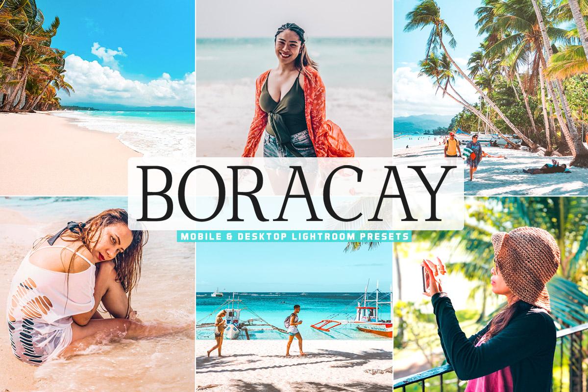 Free Boracay Lightroom Presets