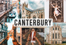 Free Canterbury Lightroom Presets