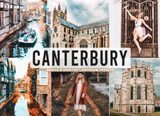 Free Canterbury Lightroom Presets
