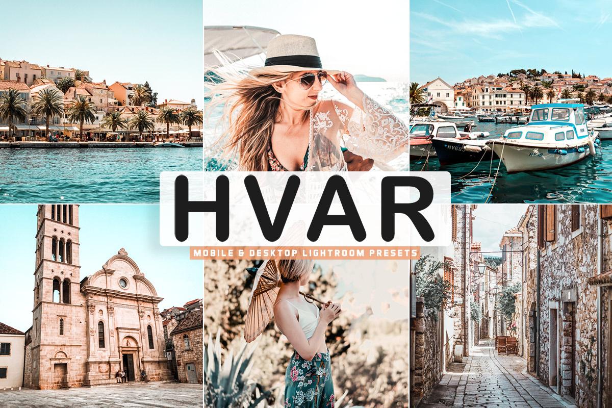 Free Hvar Lightroom Presets