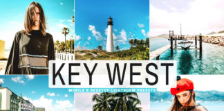 Free Key West Lightroom Presets