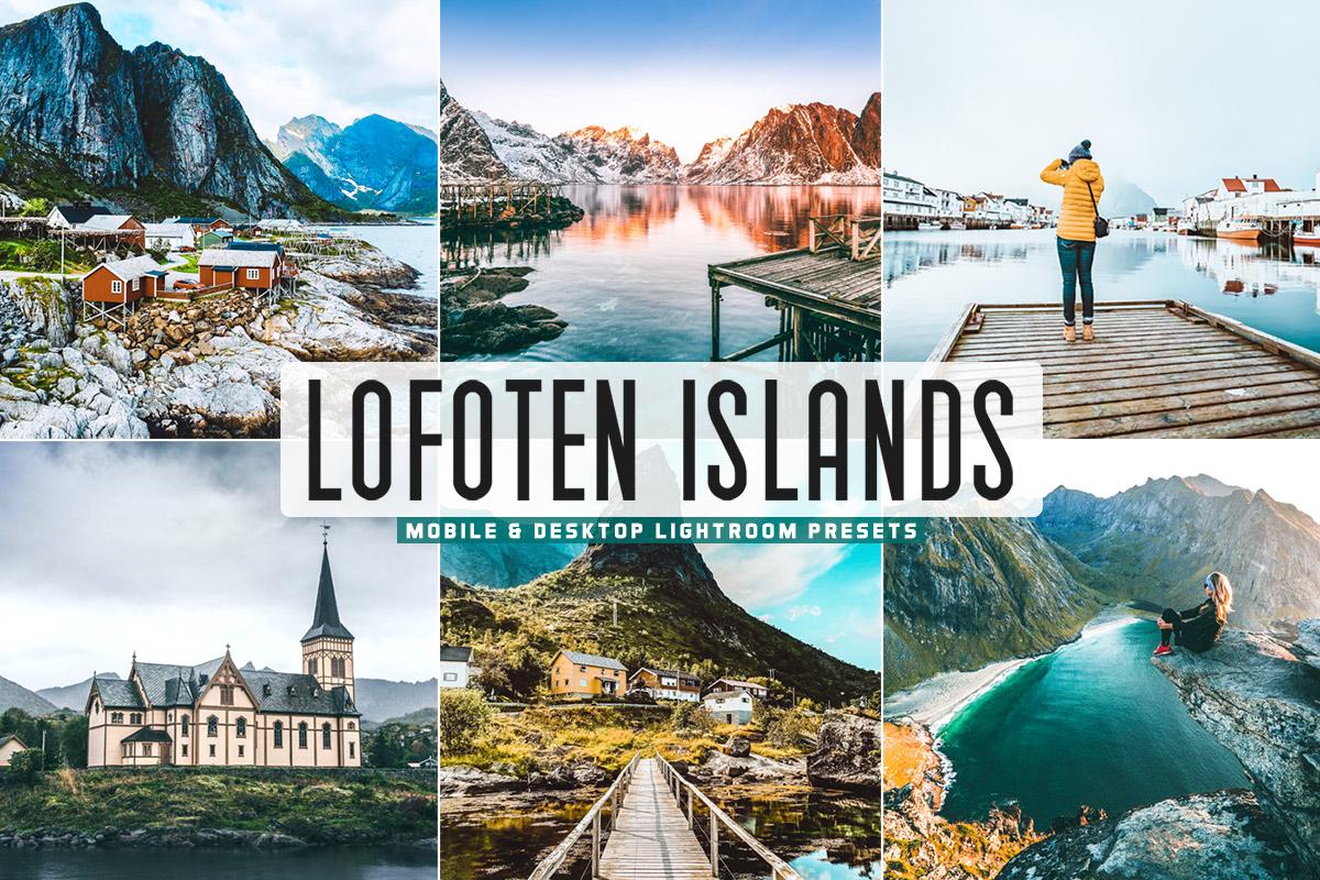 Free Lofoten Islands Lightroom Presets