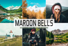 Free Maroon Bells Lightroom Presets