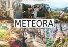 Free Meteora Lightroom Presets