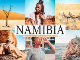 Free Namibia Lightroom Presets
