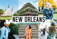 Free New Orleans Lightroom Presets