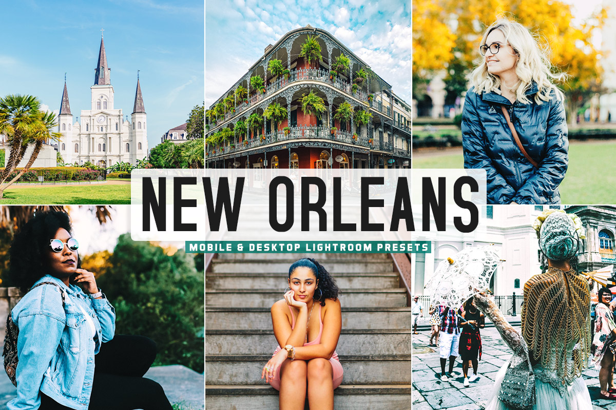 Free New Orleans Lightroom Presets
