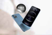 Free Phone 12 Mockup