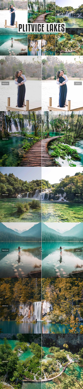 Free Plitvice Lakes Lightroom Presets