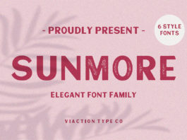 Free Sunmore Sans Serif Font