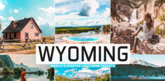 Free Wyoming Lightroom Presets
