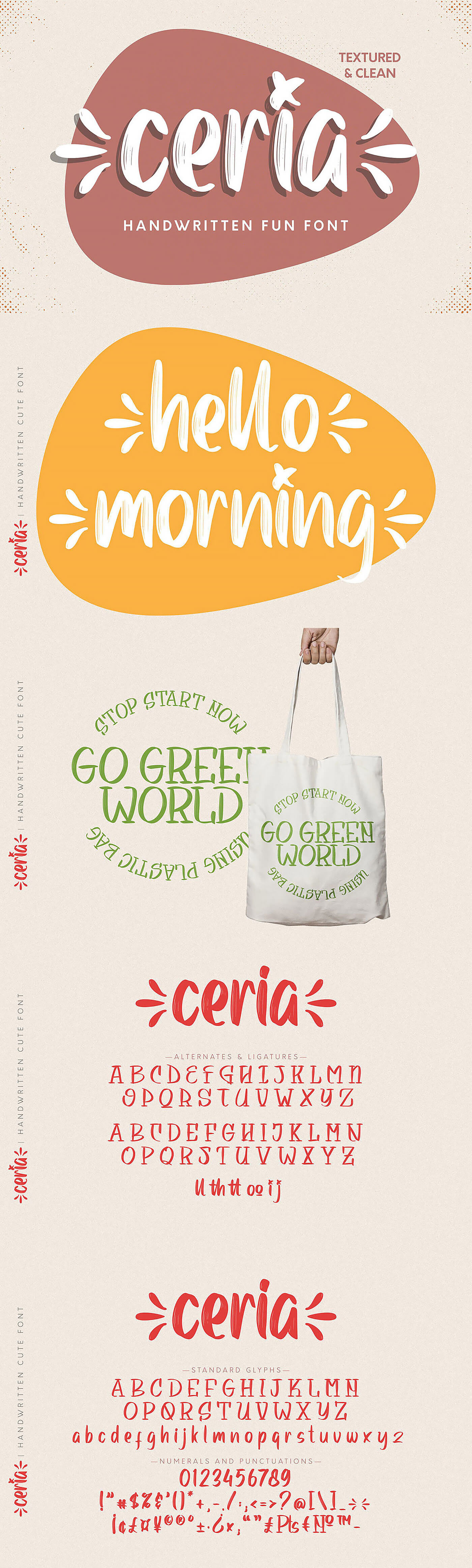 Free Ceria Handwritten Font