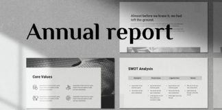 Free Annual Report Presentation Template