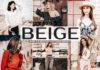 Free Beige Lightroom Presets