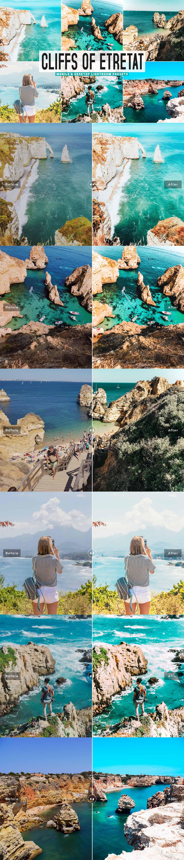 Free Cliffs of Etretat Lightroom Presets