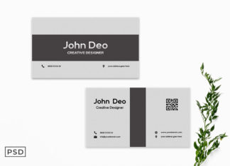 Free Creative Business Card Template V1
