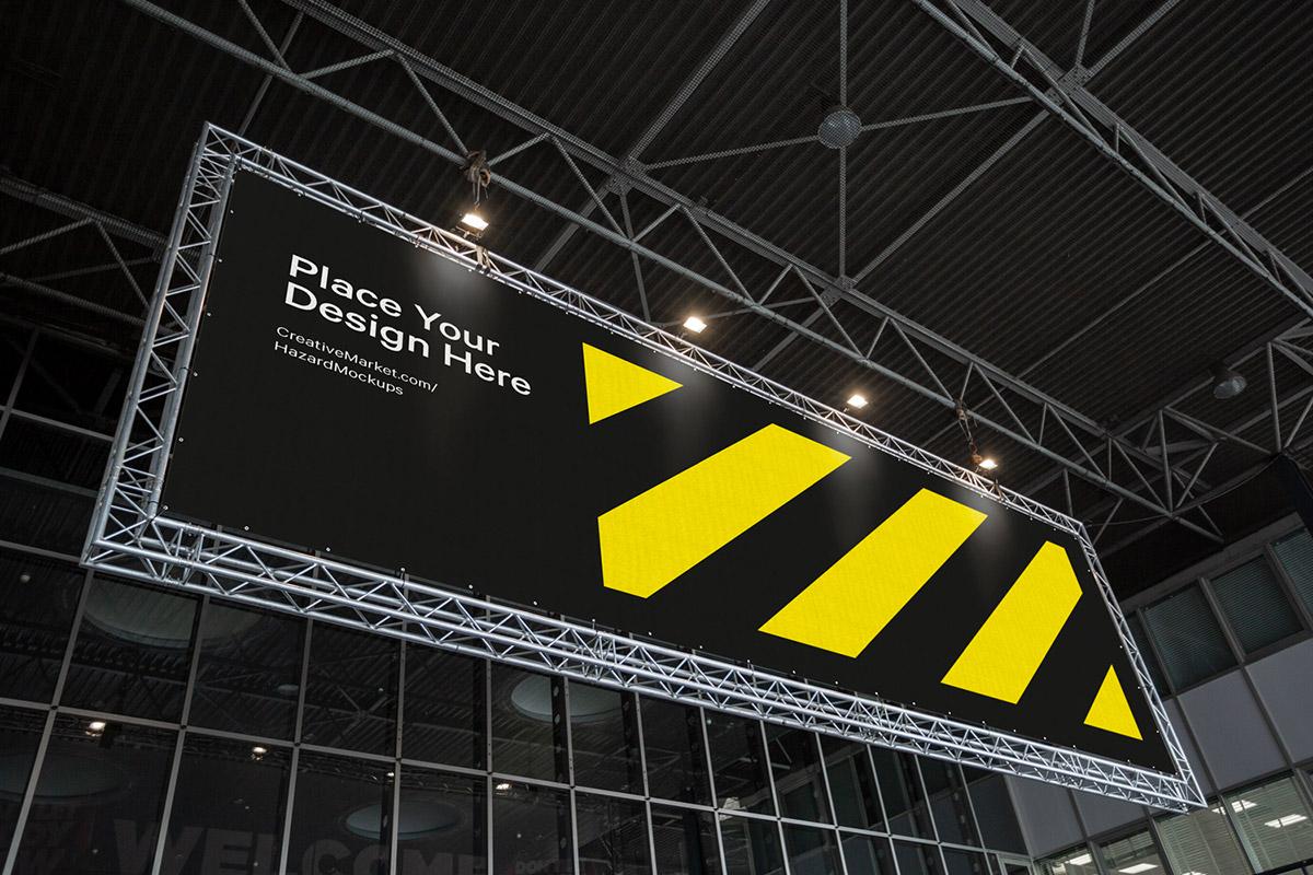 Free Event Frame Banner Mockup