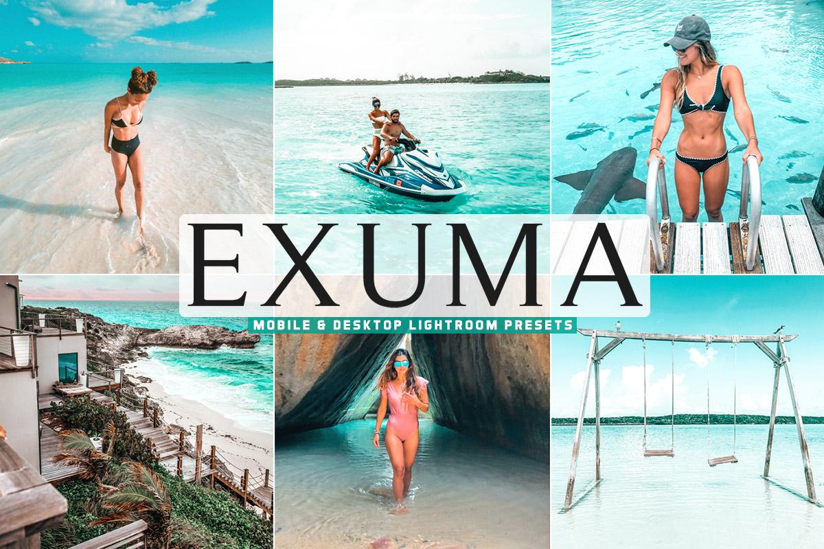 Free Exuma Lightroom Presets