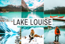 Free Lake Louise Lightroom Presets