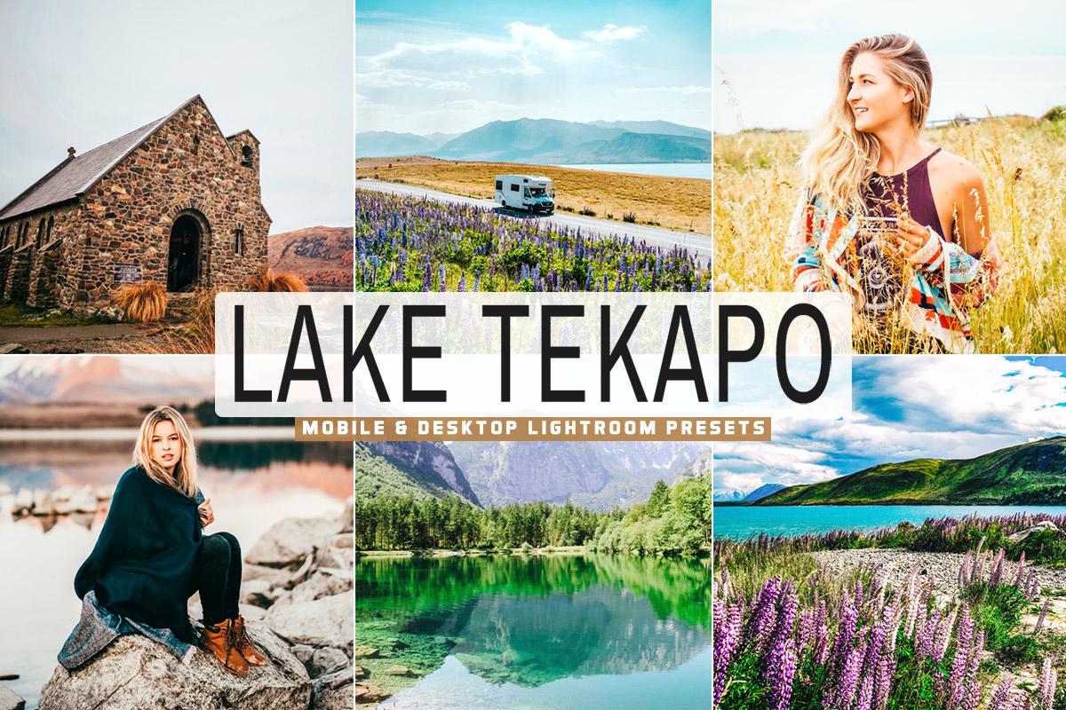 Free Lake Tekapo Lightroom Presets