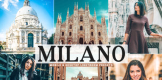 Free Milano Lightroom Presets