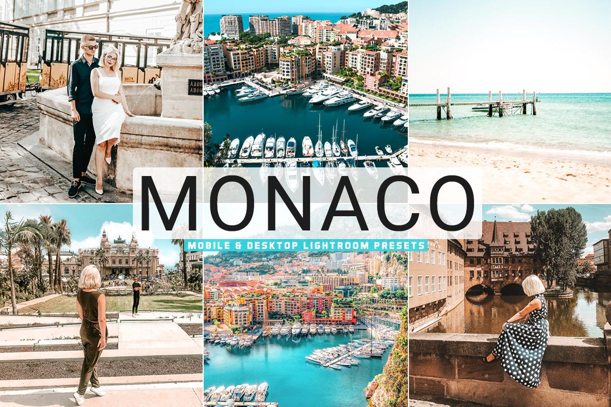 Free Monaco Lightroom Presets