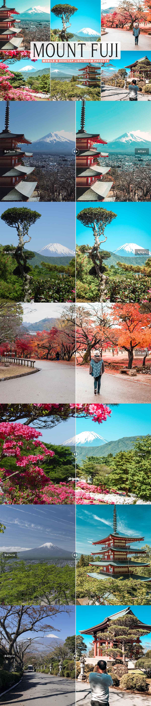 Free Mount Fuji Lightroom Presets