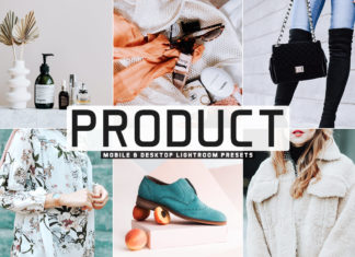 Free Product Lightroom Presets
