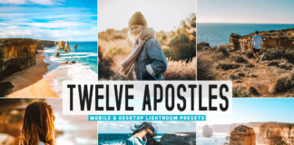 Free Twelve Apostles Lightroom Presets