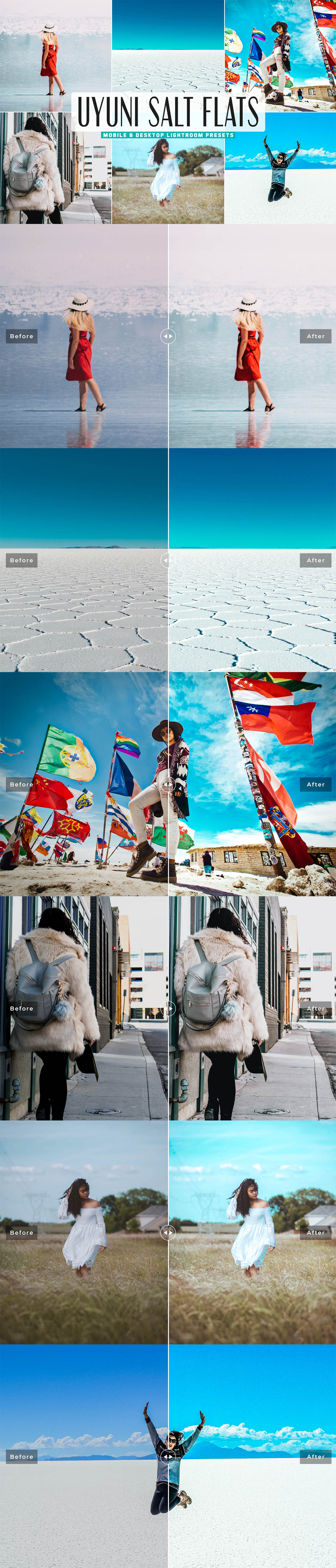 Free Uyuni Salt Flats Lightroom Presets