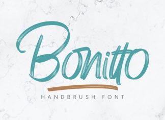 Free Bonitto Handbrush Font