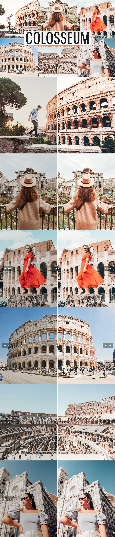 Free Colosseum Lightroom Presets