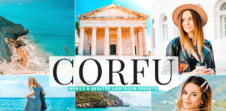 Free Corfu Lightroom Presets