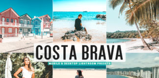 Free Costa Brava Lightroom Presets