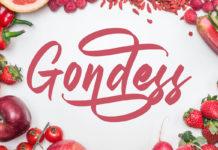 Free Gondess Script Font