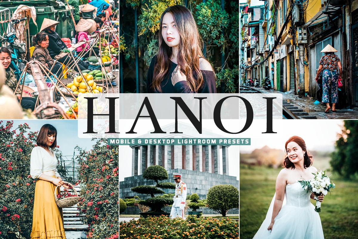 Free Hanoi Lightroom Presets