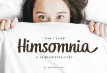 Free Himsomnia Handwritten Font