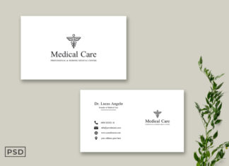 Free Medicare Business Card Template
