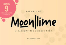 Free Moonlime Handwritten Font