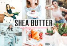 Free Shea Butter Lightroom Presets
