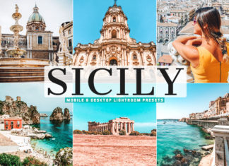 Free Sicily Lightroom Presets