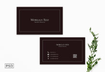 Sober Business Card Template V2